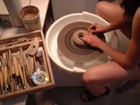 Art Mediums: Pottery Wheel